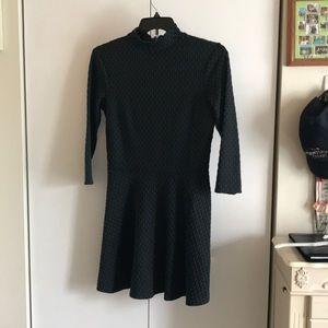 HM Skater Turtleneck Dress